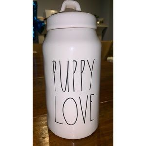 Rae Dunn Puppy Love Treat Canister